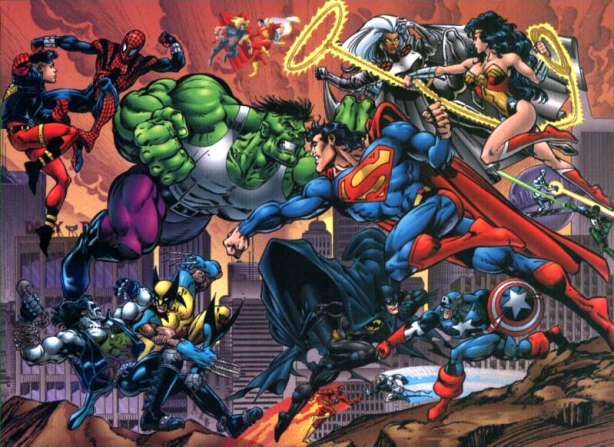 marvel vs dc 2